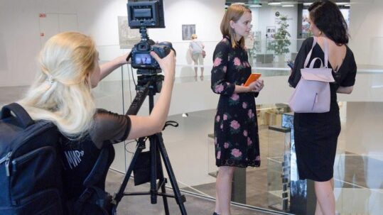 Director Anna Barsukova at work