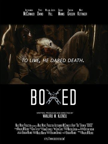 Poster for Boxed (2020), Wanjiru Njendu director